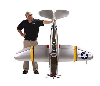New Giant P-47 Thunderbolt from Hangar 9