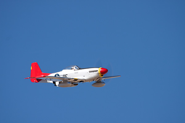 AeroWorks P-51 converted over to a Red Tail Tuskegee Fighter; Part 2