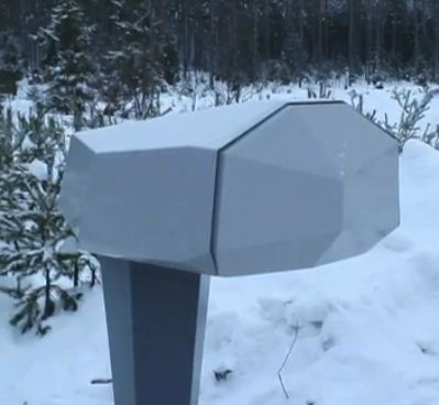 """Special delivery: tiny drone takes off from a mailbox """"hangar"""""""