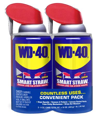 Winterize with WD-40