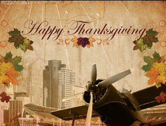 Let's give thanks!