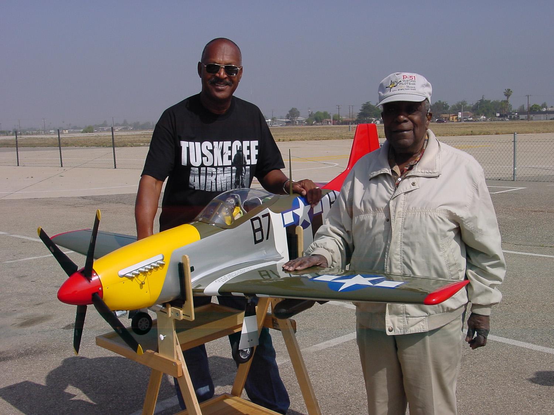Tuskegee History on a Hangar 9 RC Mustang