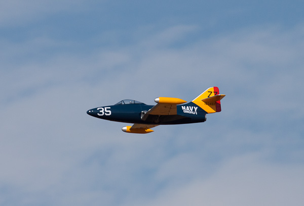 Panther F9F Electric Jet: Super-Size, Super Fast!