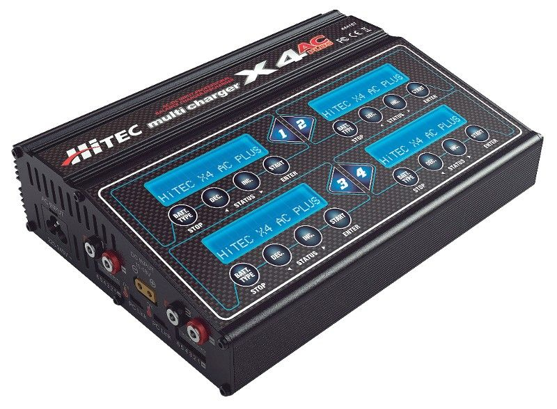 Hitec X4 AC Plus charger in for review