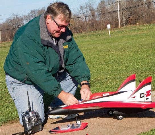 E-flite Scimitar — Just in for Review!