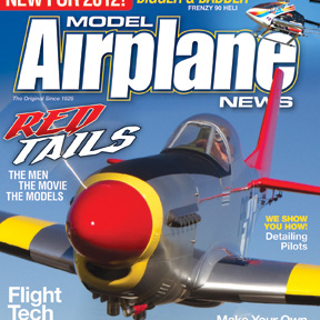 February 2012 issue of Model Airplane News on sale now.  Check out photos from the issue plus extras!