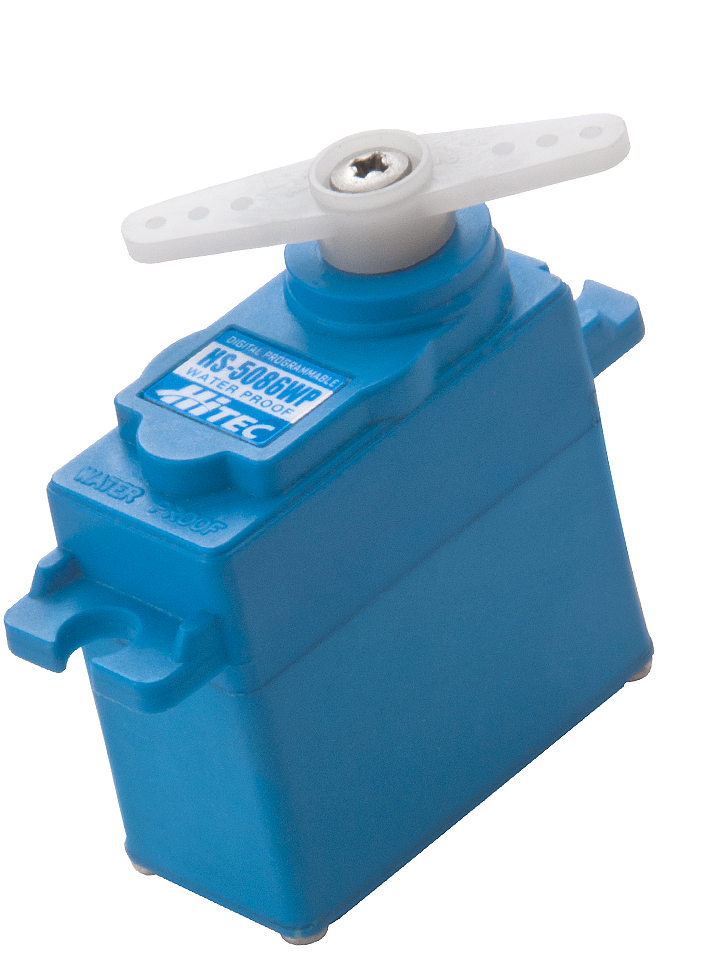 HS-5086WP, Hitec's New Digital, Waterproof Micro Servo