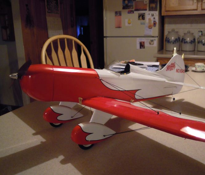 Alien Aircraft Gee Bee Sport Kit Build-Along — Video update