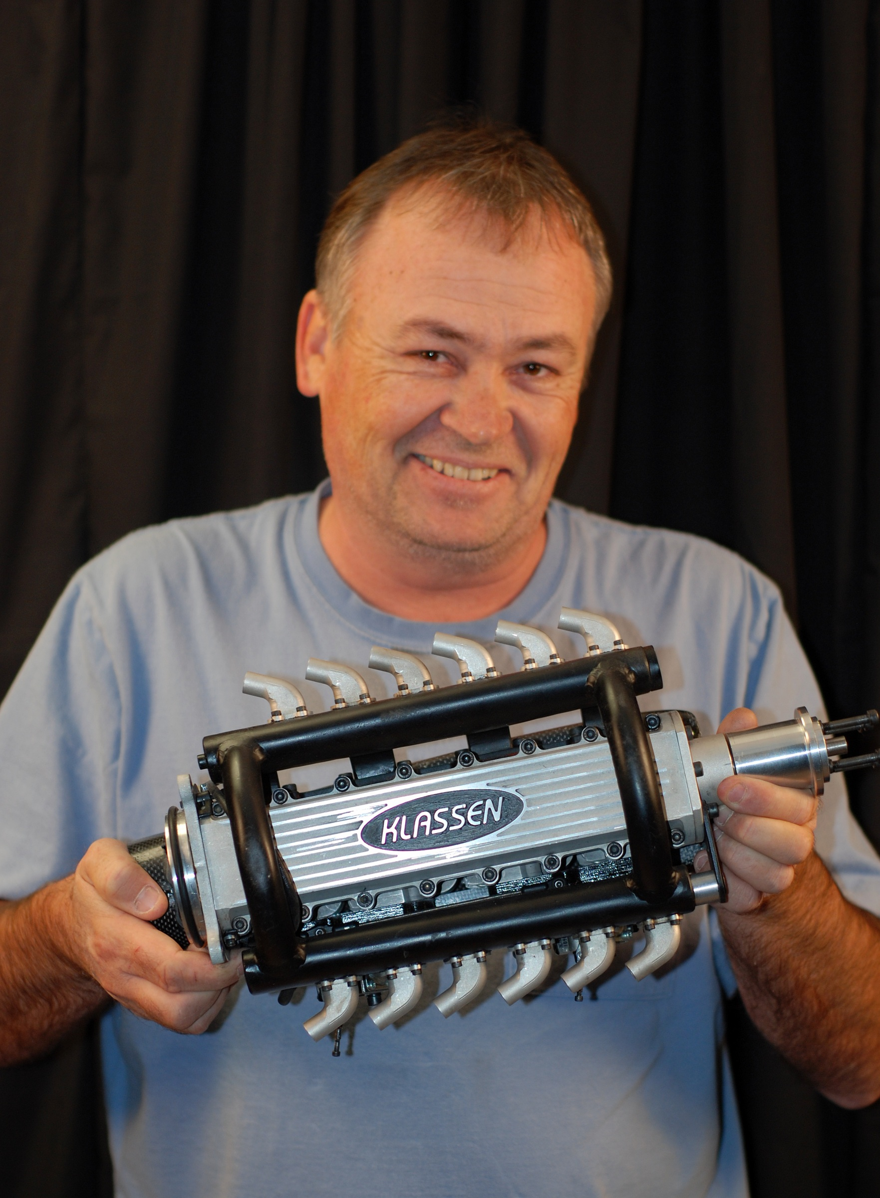 """New Canadain made Giant Scale Motor """"Klassen F110 Widowmaker"""""""