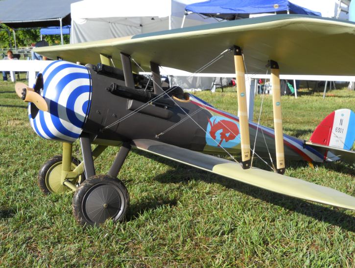 Giant Scale Nieuport 28 Building and Detailing Tips with video interview