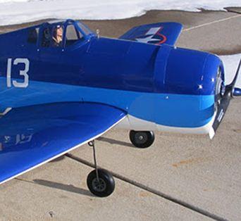 Hangar 9 E-conversions: P-47, F4U Corsair & F6F Hellcat