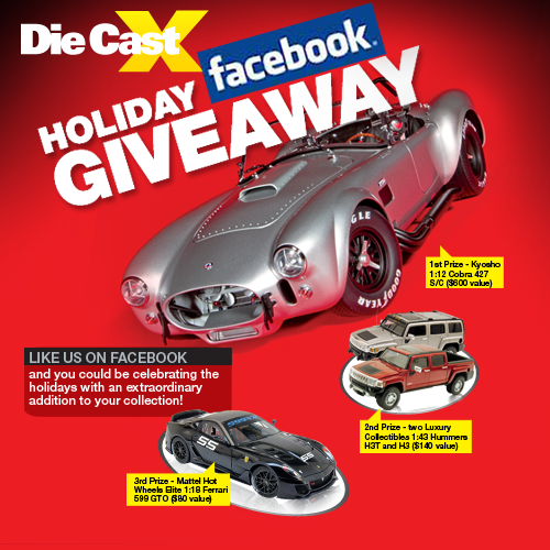 Die Cast X Sweepstakes!