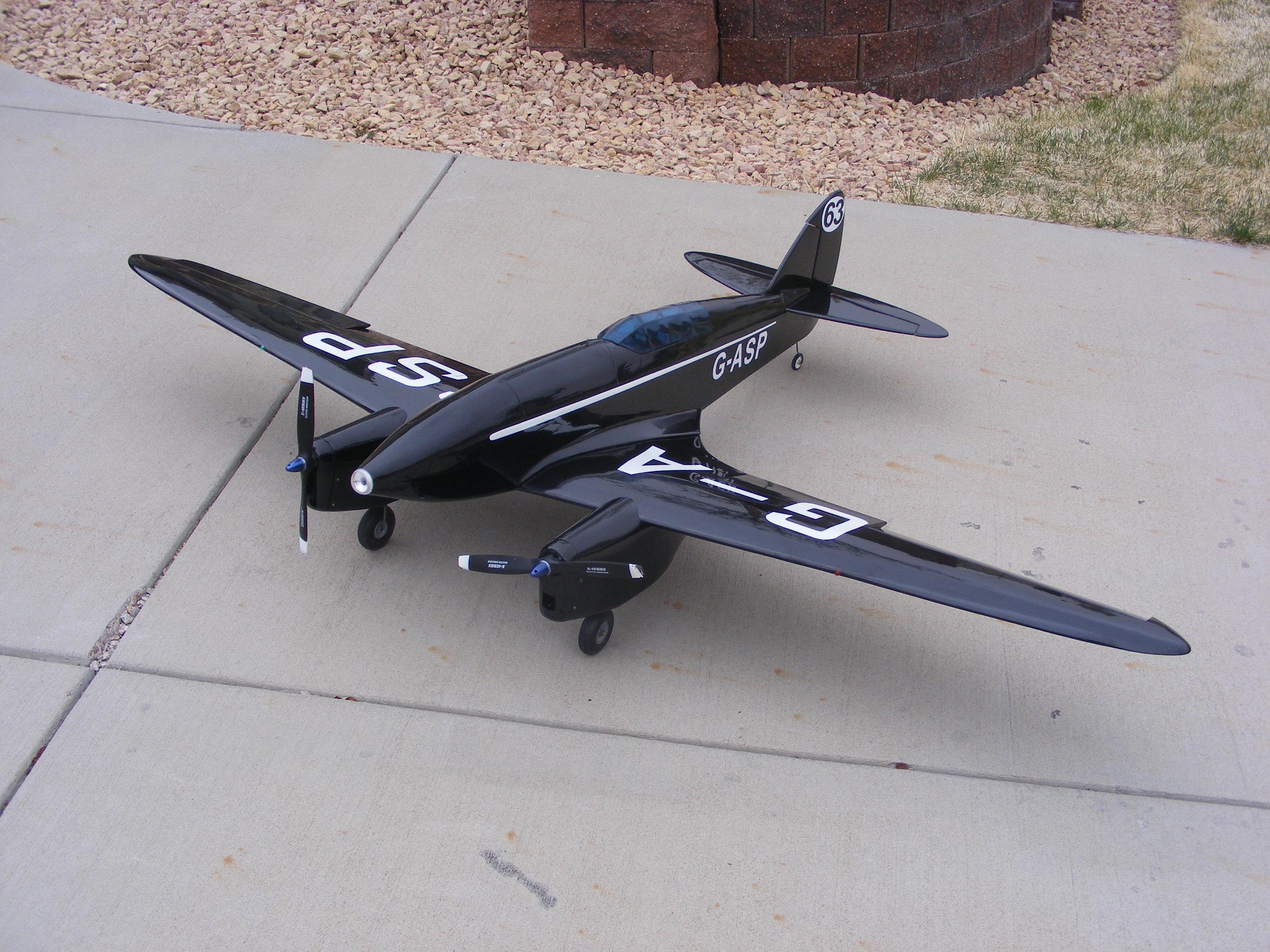 De Havilland DH 88 Comet Full Build Part III