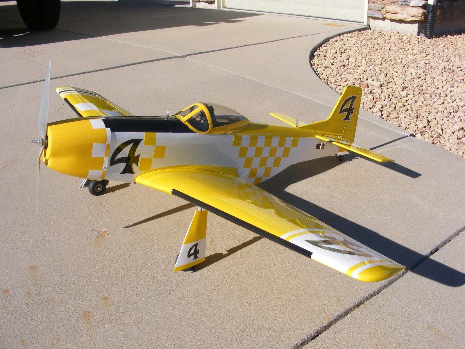 P-51 Mustang Reno Racer
