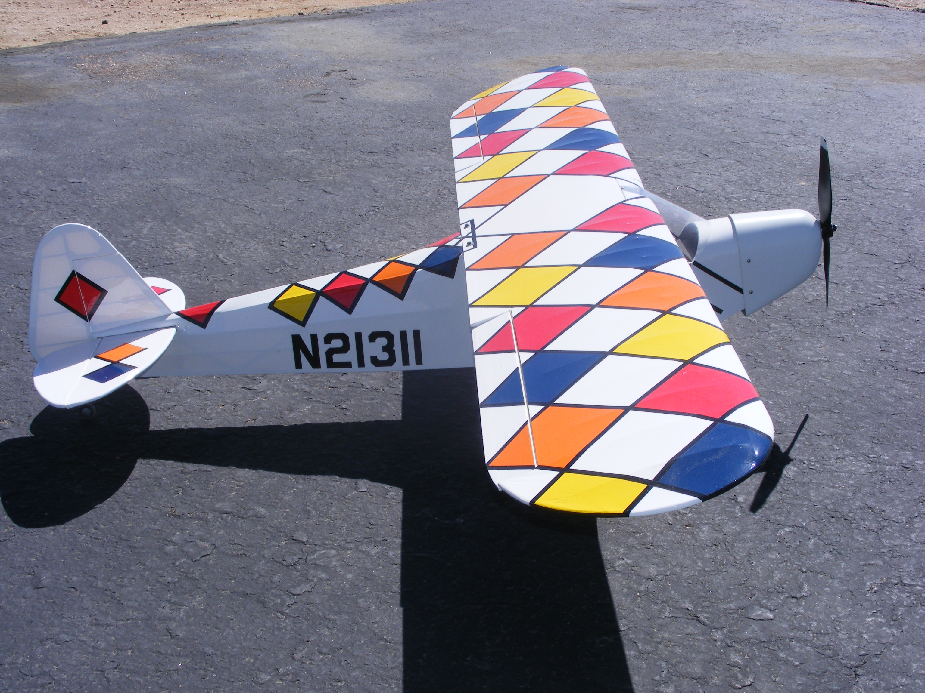 J 3 Cub-Fun with covering