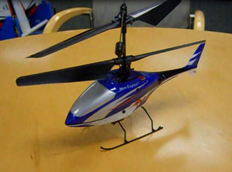 Nine Eagles Draco Micro Heli — Just in the office for review!