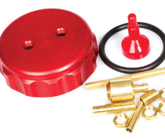 Fox Mfg.  Billet Fuel Container Topper
