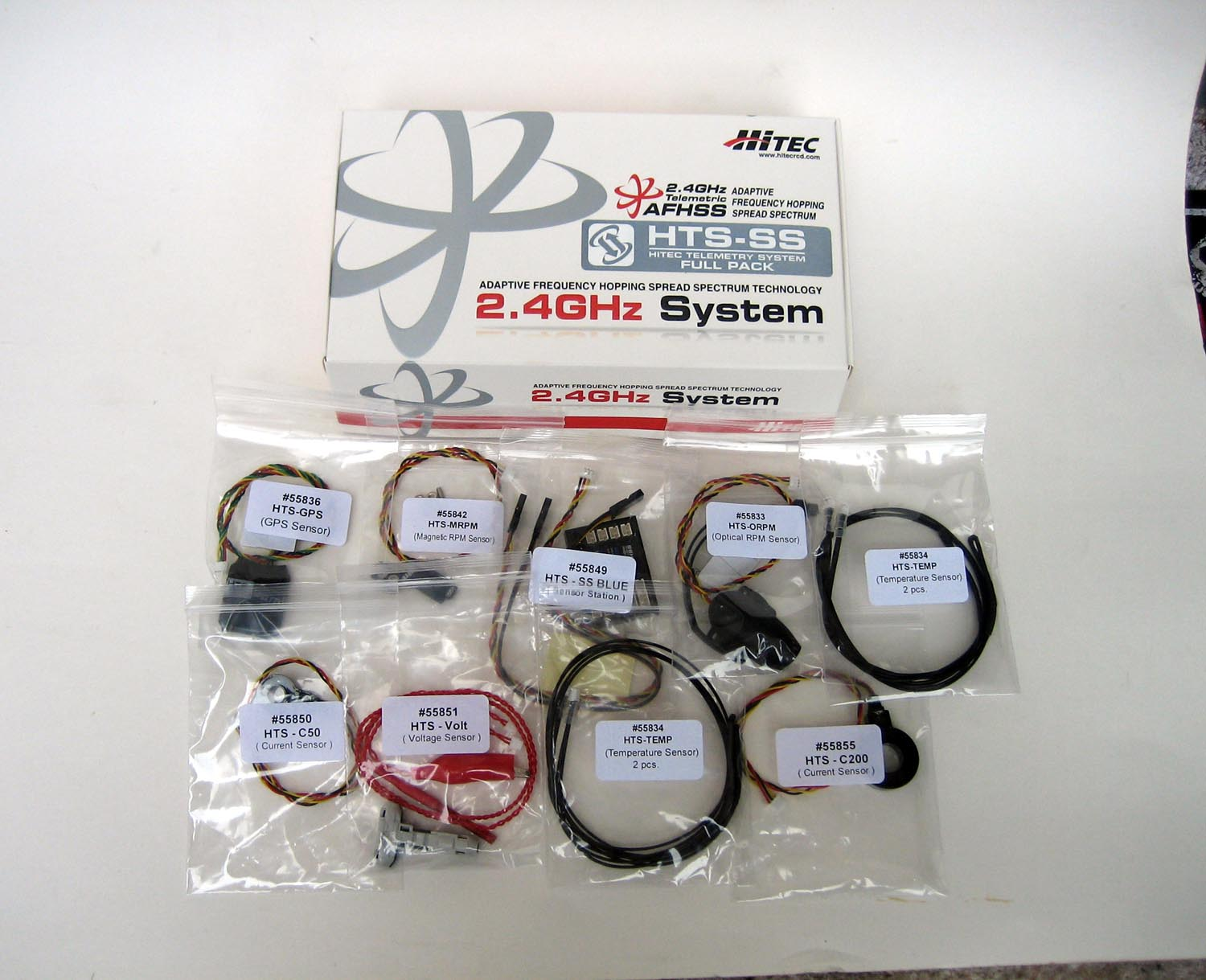 Hitec Full Pack Telemetry System