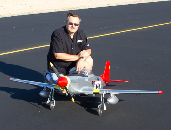Red Tail Conversion, Flight video
