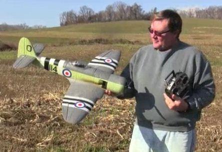 ParkZone Hawker Sea Fury — Flightline Video Flight Report