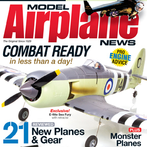 Model Airplane News March 2012 magazine on sale now. Check out some images from the issue!