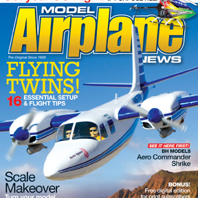Model Airplane News April 2012 magazine on sale now. Check out some pics from the Issue!