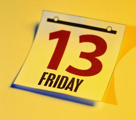 Friday the 13th — Rules to fly by?