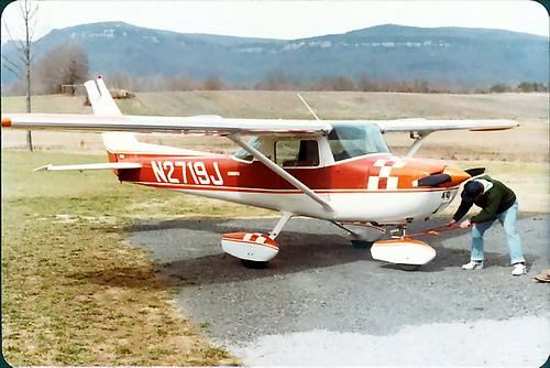David and Plane