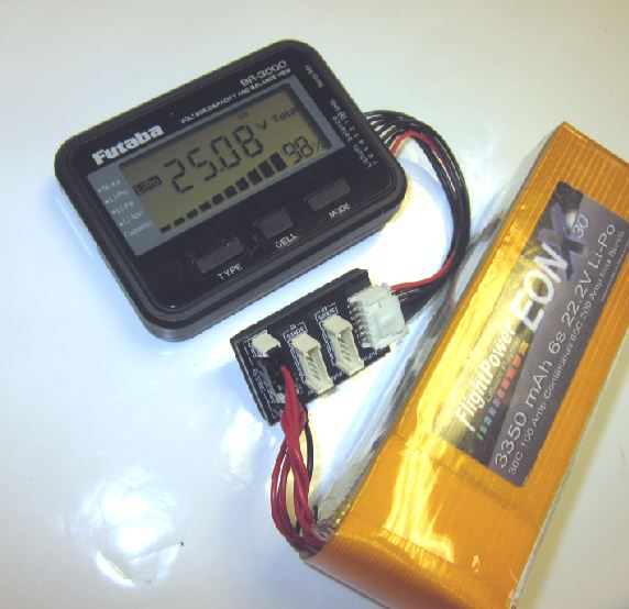 Futaba BR-3000 Battery Checker