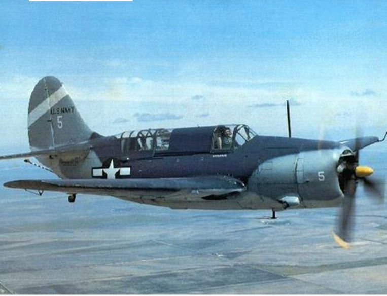Curtiss SB2C Helldiver found!