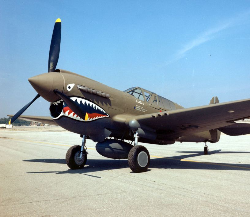 THE FLYING TIGERS—How they got their name!