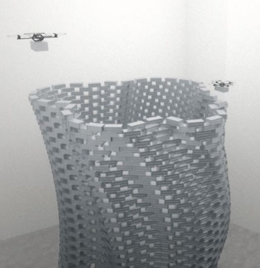 Cool video: flying robots build a tower
