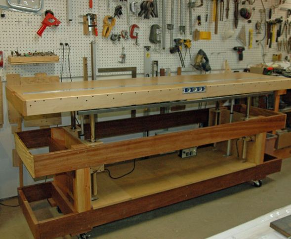 Adjustable Workbench How To Model Airplane News