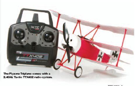 Sneak Peek: FlyZone Dr.1 Triplane