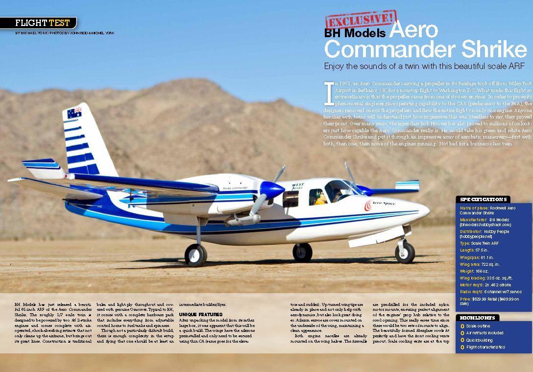 Sneak peek: BH Models Aero Commander Shrike