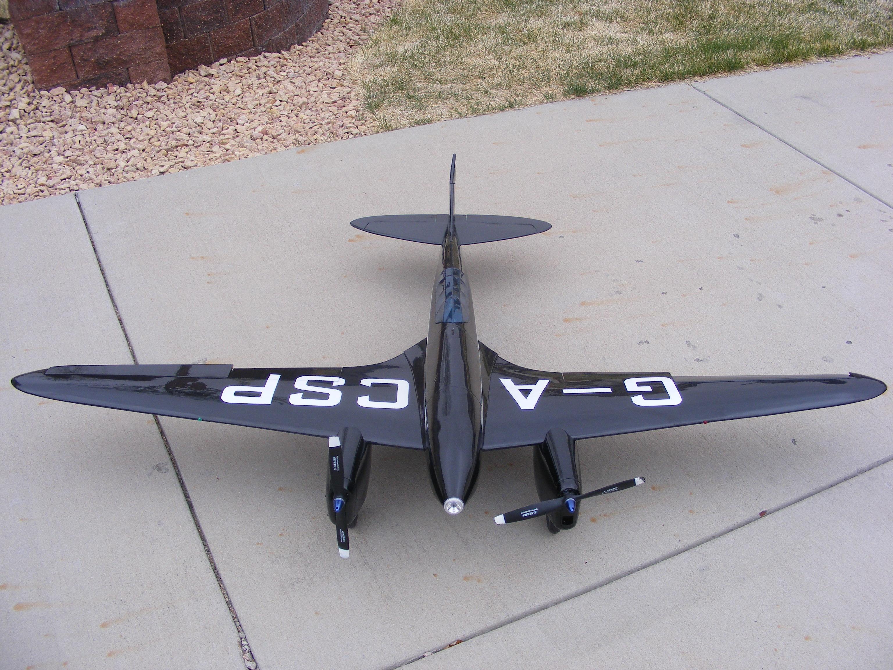 De Havilland DH 88 Comet Full Build Part IV