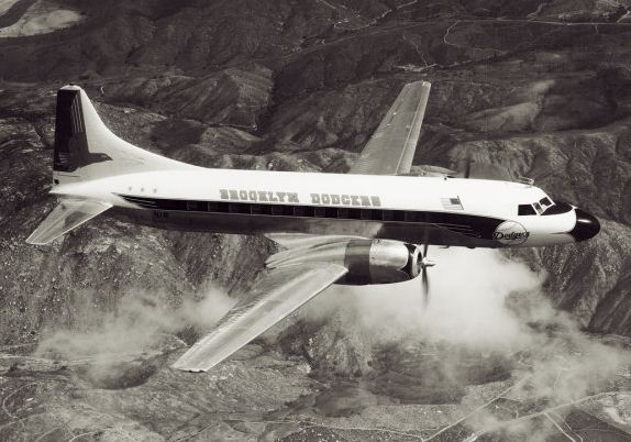 Dodgers Convair CV-440