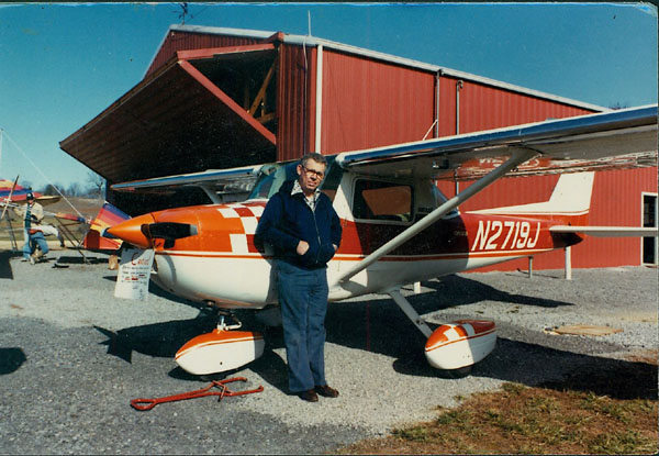 Grandpa and Cessna