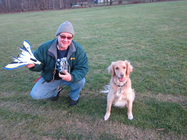 Happy New Year — First RC Flight of the Year