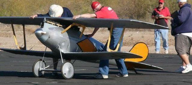 Half Scale Pfalz D.III