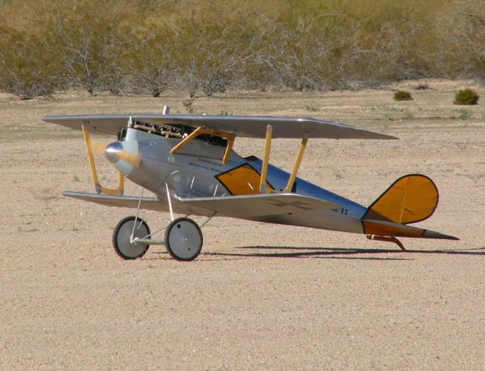 Half-Scale Pfalz D.III