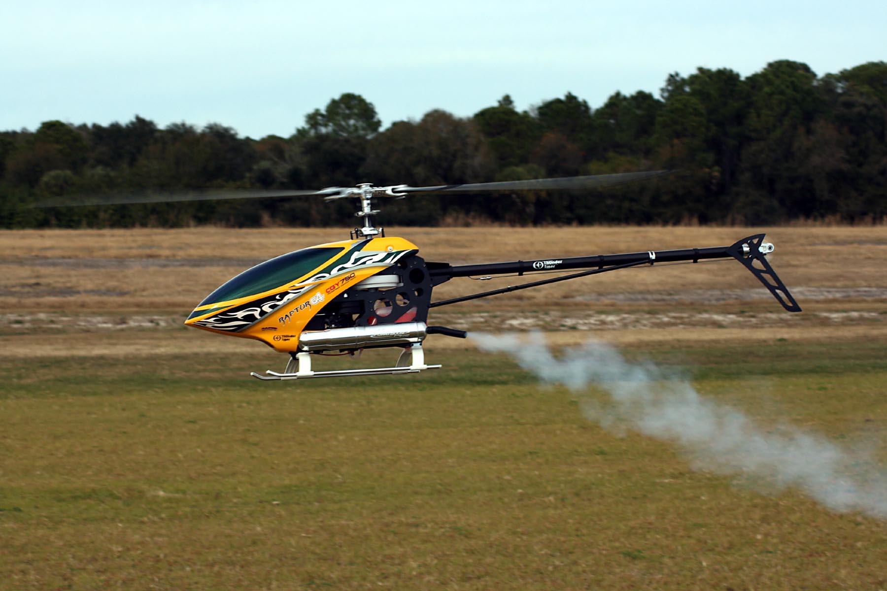 Raptor 90G4 Flight Tests