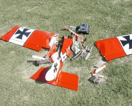 RC Plane Crash