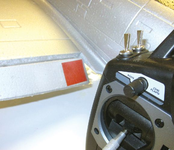 New For Members Only — Installing Flaps on your Foam Fighter