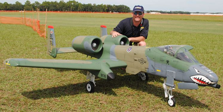 Top Gun contender: awesome twin turbine A-10