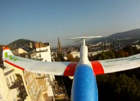 Scenic flight or dangerous stunt?