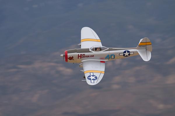 Hangar 9 P-47D Thunderbolt 30cc flight video