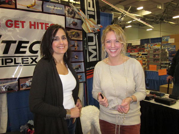 WRAM Update — Smiling Faces at the Hitec Booth