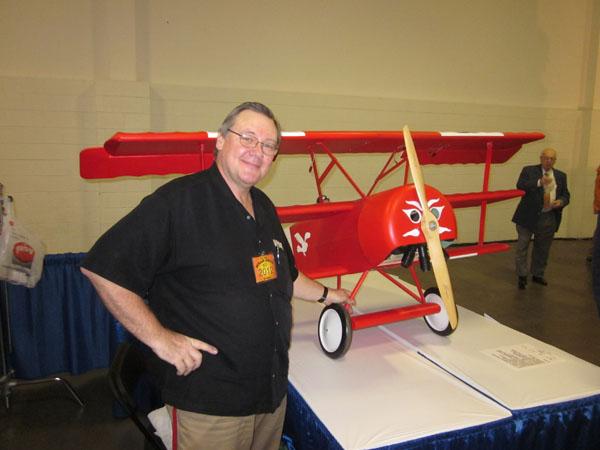 WRAM Update — Giant Fokker Triplane ARF