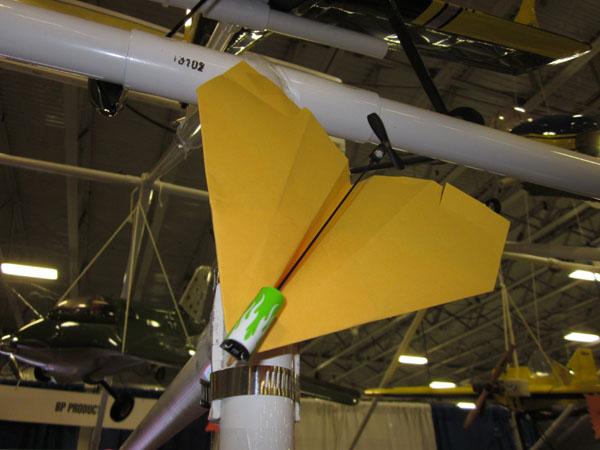 WRAM Update — BP Hobbies Powered Paper Planes?